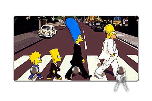 Porta Chaves Ecológico Simpsons Beatles