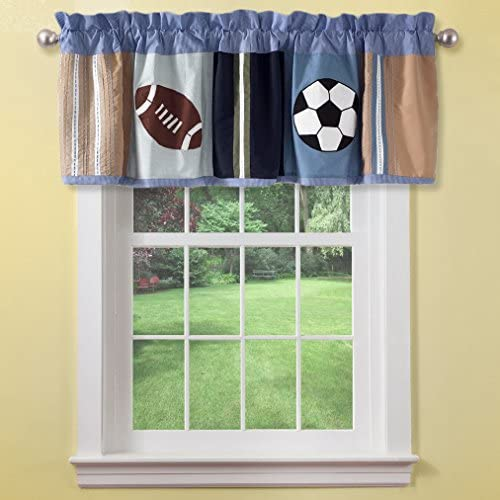 All State Cotton Rod Pocket Tailored Curtain Valance