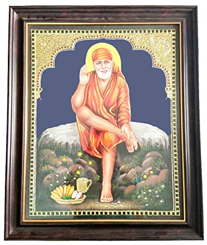 Mangala Art Saibaba Indian Traditional Tamil Nadu Culture