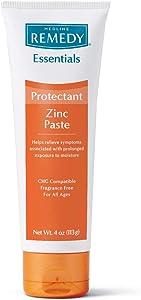Medline Remedy Essentials Zinc Skin Protectant Paste, 4oz.