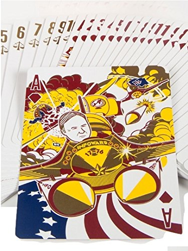 Infowars Gold Foil Deck Of Donald Trump   Alt Right Playing Cards