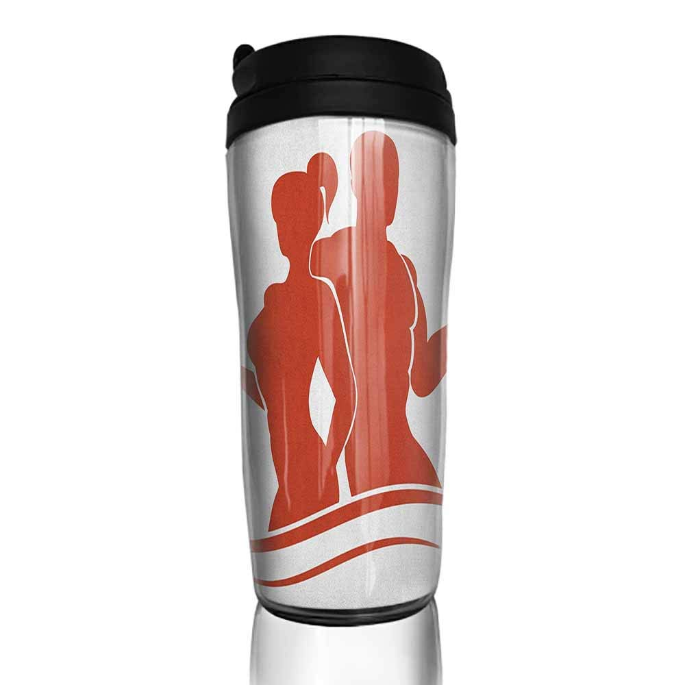 Tazas de café con tapas, 16 oz, fitness, I Like Fitness Sports y ...