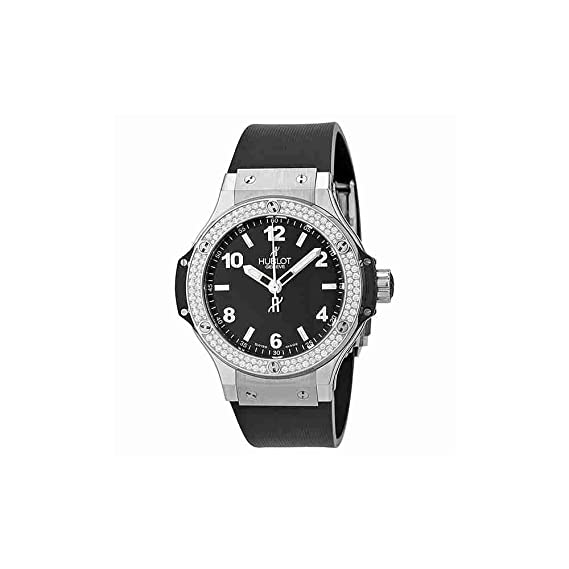 Hublot Big Bang Negro Dial Diamante Negro Goma Ladies Watch 361. SX. 1270. RX. 1104: Hublot: Amazon.es: Relojes