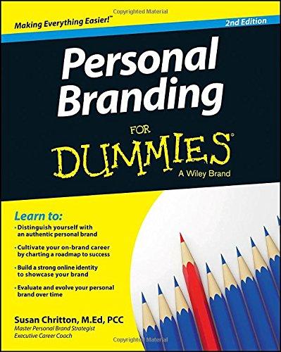 Personal Branding Dummies Susan Chritton product image