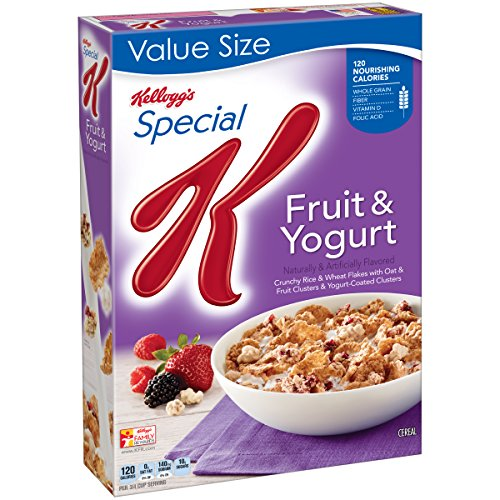 Yogurt Fruit And - Kellogg's Special K Cereal, Fruit and Yogurt, 16.6 Ounce