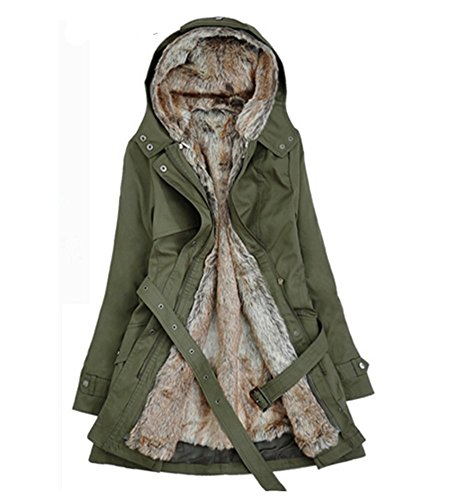 Wool Belted Military Coat - 4