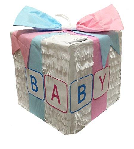 APINATA4U White Baby Gift Box (Pinata Baby)