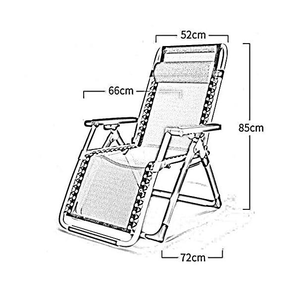 MXueei Poltrone reclinabili, Sedia a Sdraio da Esterno con Patio a Chiusura Zero a gravità, Poltrona reclinabile… 4 spesavip