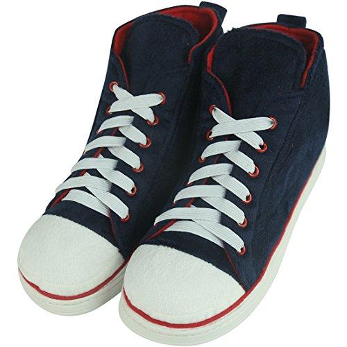 Slipper Winter Outdoor Sneaker Women's Boots House Classic Blue Home Slippers Indoor Warm Dark Plush afdWwH