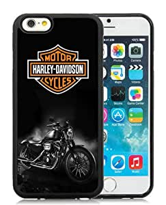 Personalized Custom Picture iPhone 6,Harley Davidson Dark Custom Black iPhone 6 4.7 Inch TPU Custom Picture Phone Case