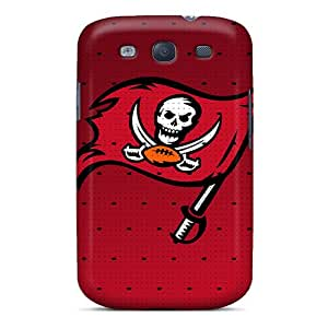 JonathanMaedel Samsung Galaxy S3 Shockproof Cell-phone Hard Cover Allow Personal Design Attractive Tampa Bay Buccaneers Pattern [RQG11072aYIc]