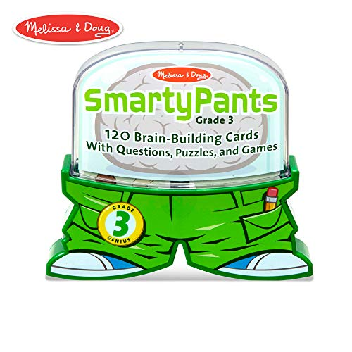 - Melissa & Doug Smarty Pants 3rd Grade Card Set - 120 Educational, Brain-Building Questions, Puzzles, and Games