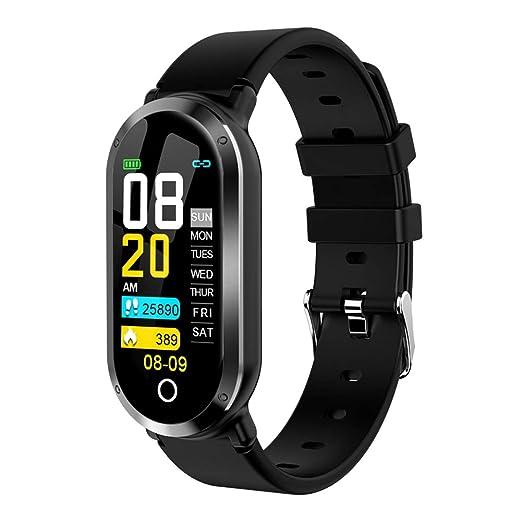Smart Armband Uhr Herzfrequenz Blutdruckmessgerät wasserdicht Sportband