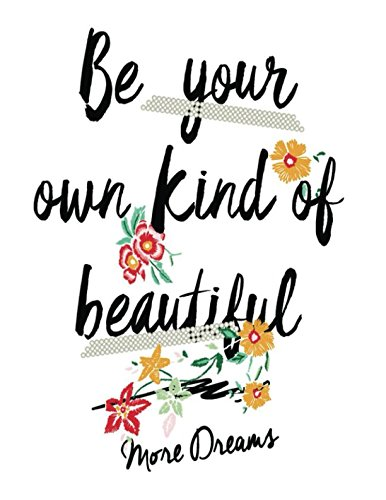 Be Your Own Kind of Beautiful: Quote Cover Kids Large Ruled Notebook  Lined Exercise Journal with 150 Pages To Write Draw Sketch For Boys Girls Teens And Student (Children's Collections) pdf