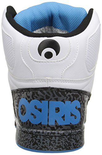 Osiris Mens Nyc83 Pattino Pattino Bianco / Blu