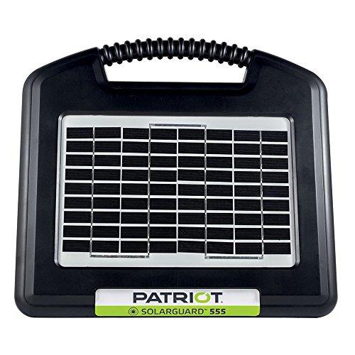 Patriot Electric Fencing SOLARGUARD 555 Fence Energizer 12V