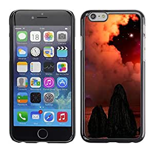 Planetar® ( The Dull Deserted Tombs ) Apple iPhone 6 / 6S (4.7 inches!!!) Fundas Cover Cubre Hard Case Cover