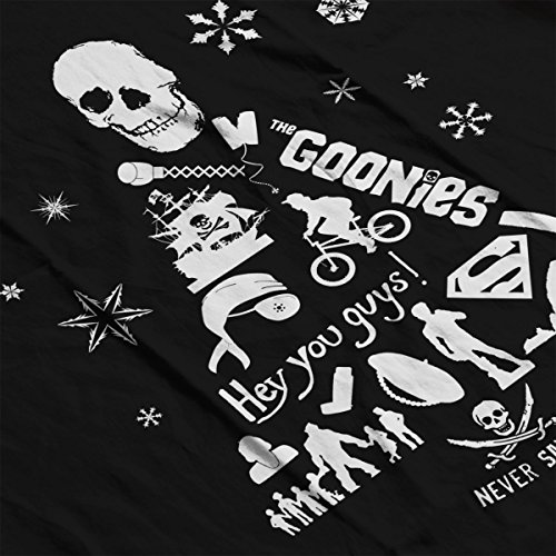 Silhouette Christmas Men's Jacket White Black white Tree Goonies Varsity wRECqwd