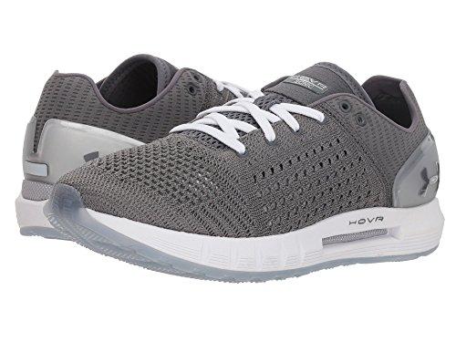 天文学畝間アニメーション[UNDER ARMOUR(アンダーアーマー)] レディースランニングシューズ?スニーカー?靴 UA HOVR Sonic Graphite/Metallic Silver/Graphite 8 (25cm) B - Medium