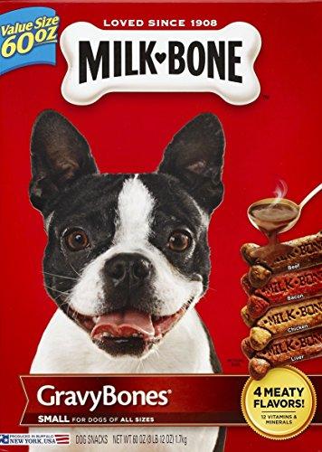Milk-Bone Gravybones Dog Biscuits, 60Oz, 4Count For Sale