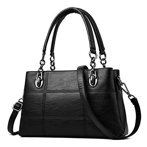 Bag Ome Black Bulk amp; Qiumei Lady Gray Handbag Bag Silver BBRZwYq