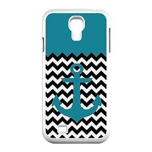 Anchor Chevron Design Discount Personalized Hard Case Cover for SamSung Galaxy S4 I9500, Anchor Chevron Galaxy S4 I9500 Cover