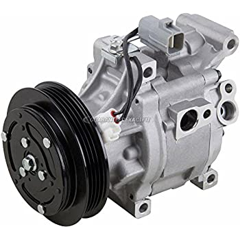 AC Compressor & A/C Clutch For Toyota Echo 2000 2001 2002 2003 2004 2005 - BuyAutoParts 60-00829NA NEW