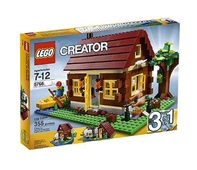Lego Creator Log Cabin 5766 by LEGO