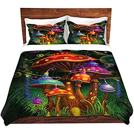 DiaNoche Designs Philip Straub Enchanted Evening Unique Bedding Ideas Cover Brushed Twill Twin Queen 8 King Duvet Sham Set