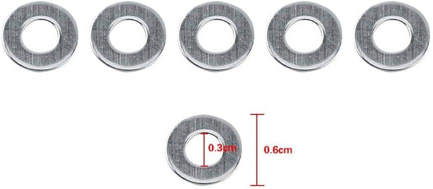 Lock Washer M8161.6 Metric Washing Machine Assortment Set Machine Workshop for The Home
