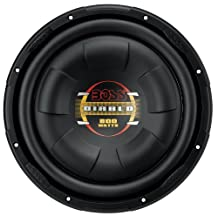 "BOSS D10F Audio Phantom 10"" Single Voice Coil (4 Ohm) 800W Subwoofer, Black"