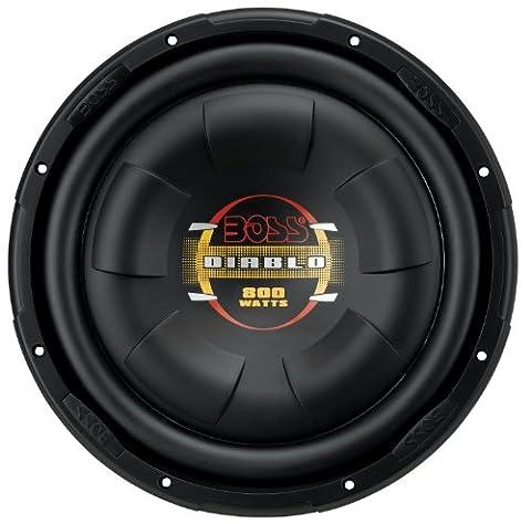 BOSS Audio D10F 800 Watt, 10 Inch, Single 4 Ohm Voice Coil Car Subwoofer (10 Inch Boss Subs)