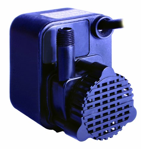 - Little Giant PE-1 Small Submersible Pump, 1/125HP 170GPH 115V Epoxy Encapsulated
