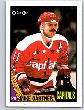 Amazon.com  1987-88 O-Pee-Chee  168 Mike Gartner Capitals Mint ... 4f99778d8