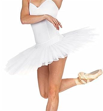 28487cee6 MICHEALWU Adult Ballet Pancake Tutu Skirts Women Professional Ballet Tutu  Costume Women Ballet Dance (M
