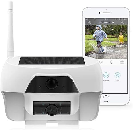 Opinión sobre FREECAM cámara IP WiFi,cámara Solar Impermeable al Aire Libre sin Cables cámara de Seguridad a Prueba de Intemperie con detección de Movimiento y visión Nocturna