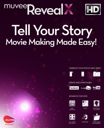 muvee Reveal X Video Editing Software [Download]