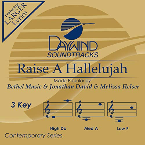 Raise A Hallelujah [Accompaniment/Performance Track]