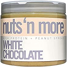 nuts n more High Protein Peanut Spread - White Chocolate
