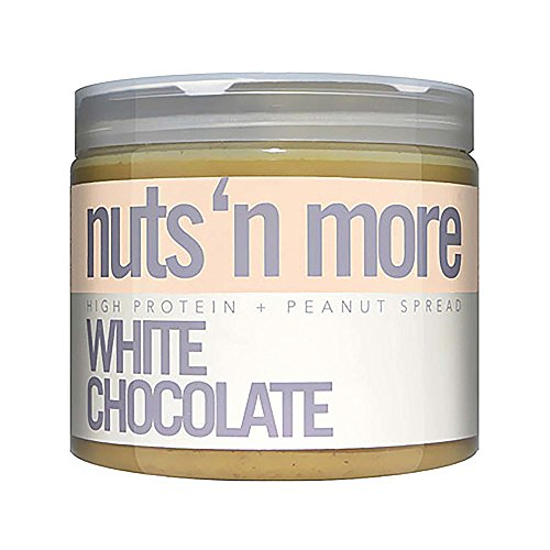 nuts n more High Protein Peanut Spread – White Chocolate