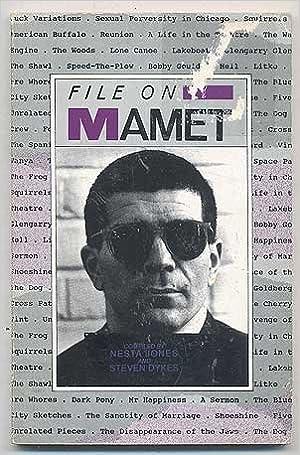 Book FILE ON MAMET (Writer-Files) by Jones Nesta (1991-04-01)