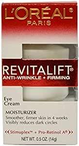 L'Oreal Paris RevitaLift Anti Wrinkle + Firming Eye Cream,0.5 Ounce