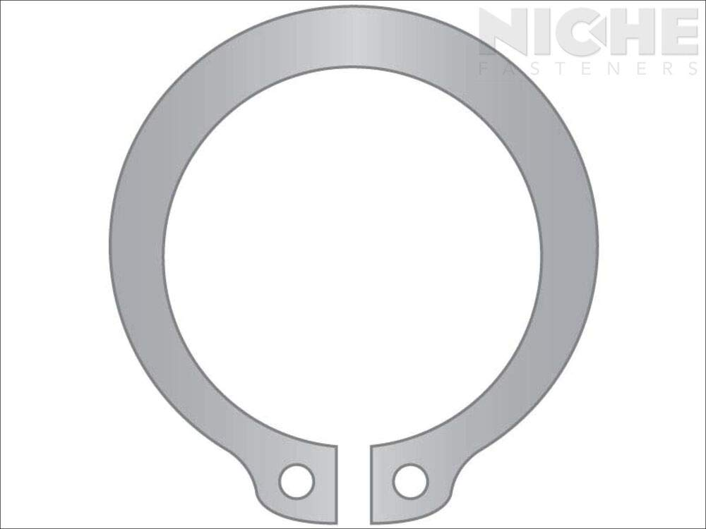 8 Pieces Snap Ring External HD .669 SS PL