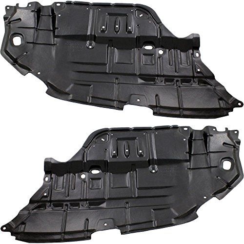 Set Of 2 Compatible with Toyota Camry 12-14 Under Cover Right and Left Side