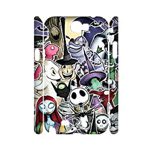 Hjqi - Custom The Nightmare Before Christmas 3D Phone Case, The Nightmare Before Christmas Personalized Case for Samsung Galaxy Note 2 N7100