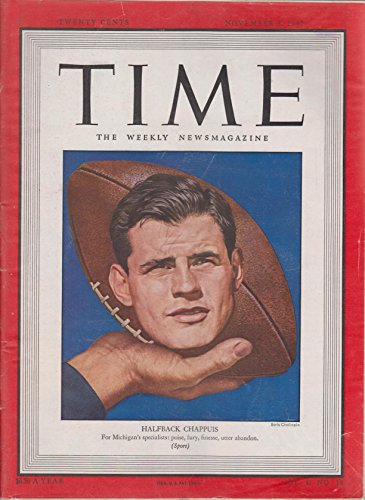 (Time Magazine November 3 1947 Halfback Chappuis cover)