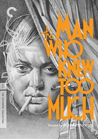 The Man Who Knew Too Much (Criterion Collection) (The Man Who Knew Too Much Dvd)