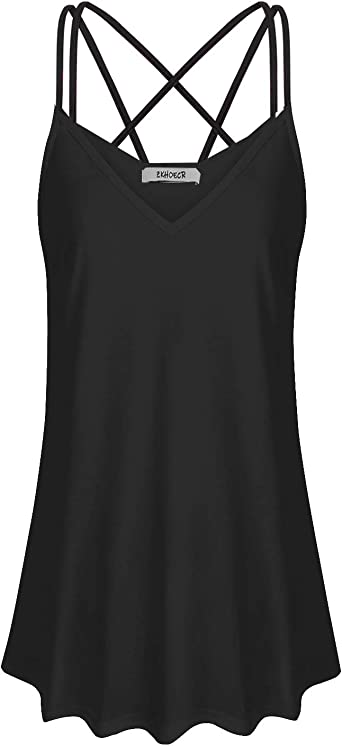 ZKHOECR Womens V Neck Zip Up Casual Tank Top Printing Sleeveless Blouse Shirts