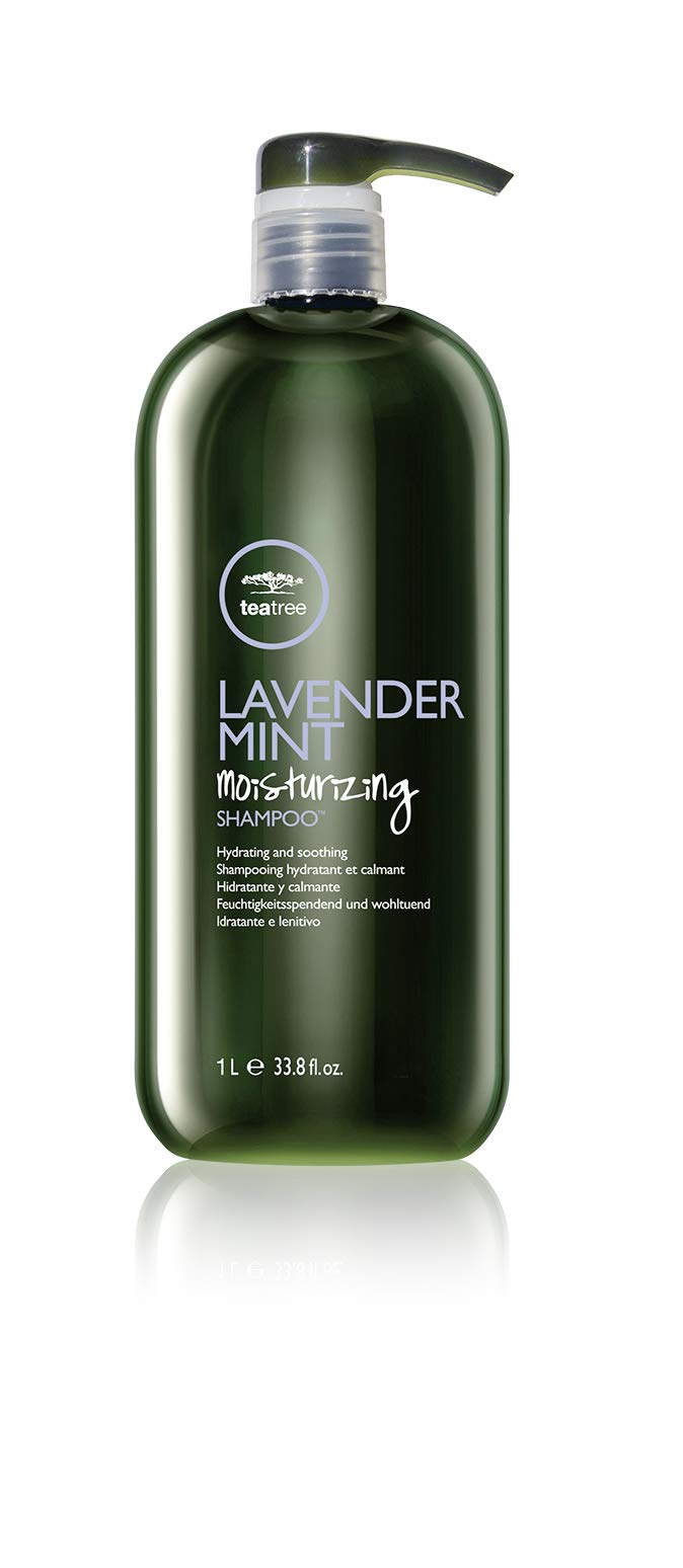 Tea Tree Lavender Mint Moisturizing Shampoo, For Coarse Dry Hair