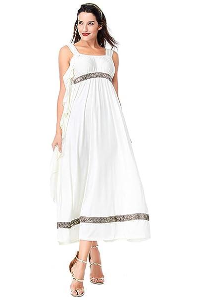 Amazon.com: Hao Kaos - Disfraz medieval de diosa griega ...